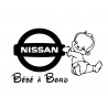 Bébé à bord Nissan Garçon