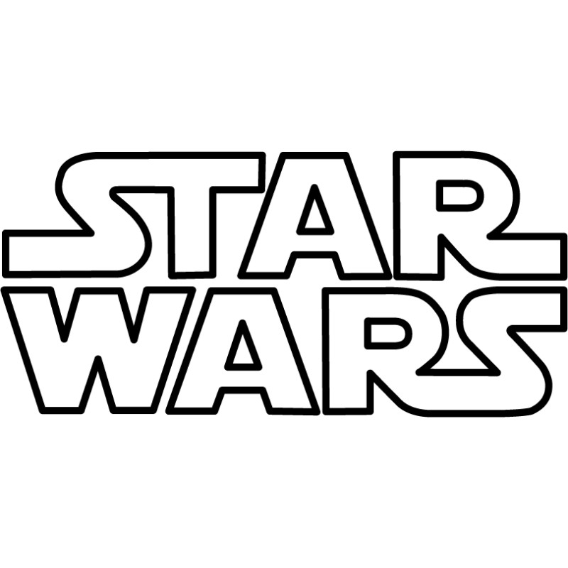 Logo star wars tous sticks - Star wars gratuit ...