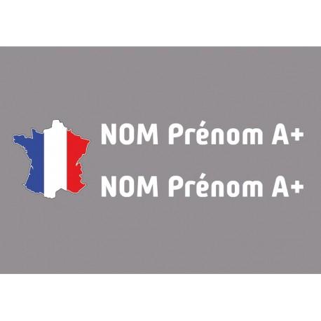 Kit noms rallye 2