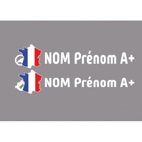 Kit noms rallye 3