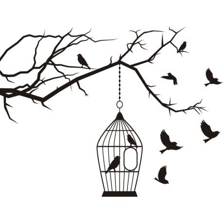 Cage à oiseaux 1