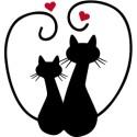 Chats amoureux