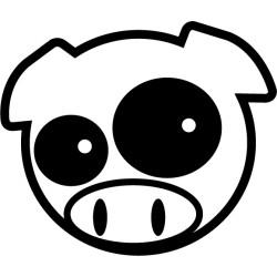 Subaru Pig Manga Mascot