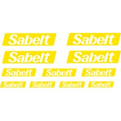 Kit 11 stickers SABELT