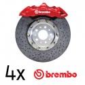 Kit 4 stickers étriers BREMBO