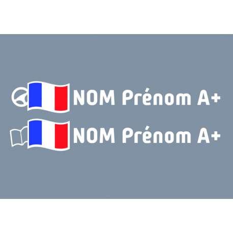 Kit noms rallye 6