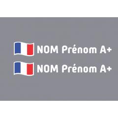 Kit noms rallye 7