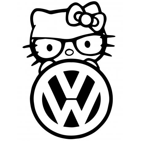 Hello Kitty volkswagen 1