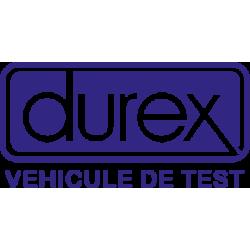 Sticker Durex Véhicule Test