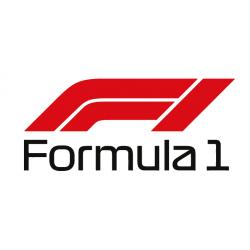 Formula 1 F1 Nouveau logo (Bicolore)