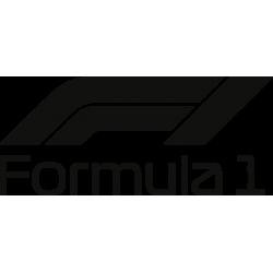 Formula 1 F1 Nouveau logo (Monochrome)