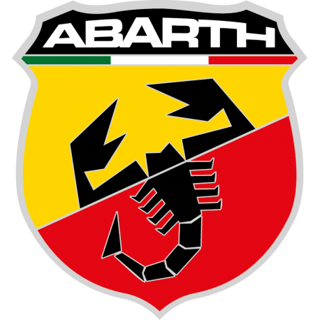 STICKER ABARTH LOGO 2