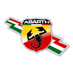 STICKER ABARTH LOGO 3