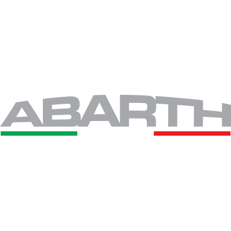 STICKER ABARTH LOGO 4