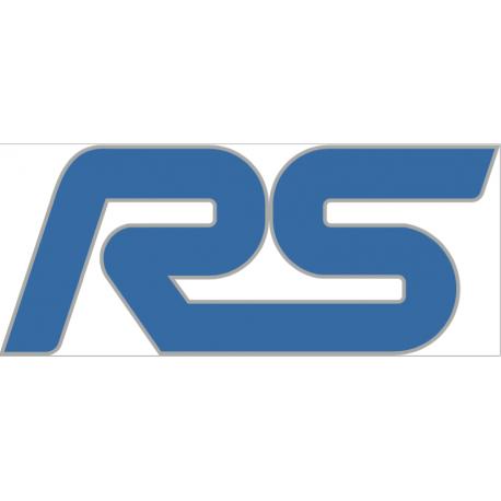 Logo Ford RS bleu & gris